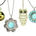 Liquidation/Wholesale Lot: (192) Women's Assorted Rhinestone Glass Metal Necklaces