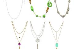 Buy Now: (192) Women's Assorted Rhinestone Glass Metal Necklaces