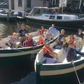 Rent per 2 hours: Eco boats Amsterdam