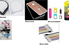 Sell: (300)Bluetooth Headset,iPhone Case,Sim Card Adapter,Earbuds