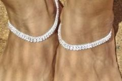 Sell: (46) Brand New Silver & Gold Finish Ankle Bracelets