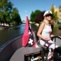 Rent per hour: Amsterdam E-Boat - max 38 people