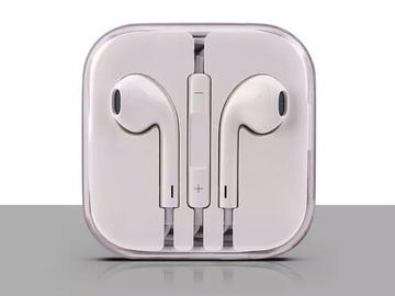 Bulk Lot: 50 X iPhone Headphones with Microphone 6s 6 Plus 5s 5 4 4s