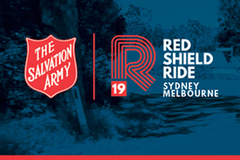 Selling : Red Sponsor - Red Shield Ride