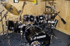 Selling with online payment: Complete Sonor Select Force S-Drive, 6pc Maple Drum Set