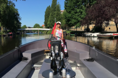Rent per 3 hours: E-Boat Amsterdam - max 38 people