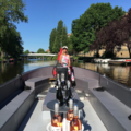 Rent per 3 hours: E-Boat Amsterdam - max 30 people