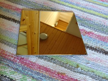 Ilmoitus: Peilipalat 22x22cm