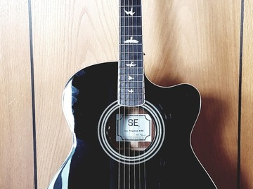 Renting out: PRS SE Angelus A10E in black