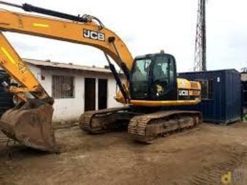 En alquiler: Excavadora Hidráulica JCB JS 200