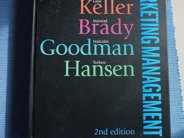 Selling: Marketing Management 2nd ed - Kotler Keller Brady