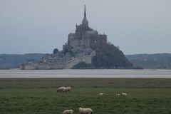 NOS JARDINS A LOUER: jardin avec vue panoramique sur le Mont st Michel