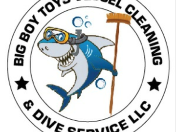 Offering: Big Boy Toys Vessel Cleaning & Dive Service LLC