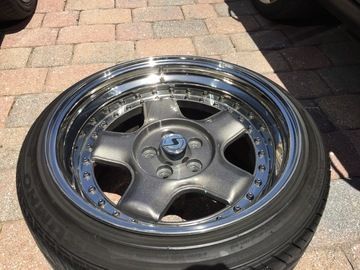 Selling: 16x7.5 & 16x9.5 | 5x100 | 3pc Schmidt Modern Lines for sale