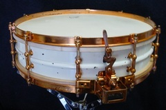 Not So Modern Drummer Article : Mike Currotto-1926 L&L SUPER-LUDWIG 4 x 15 Inspiration Model