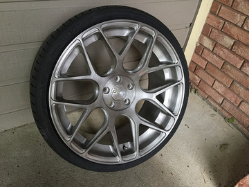 Selling: 20x10 | 5x112 | Avant Garde M590 wheels for sale
