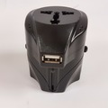 Single Item: USB Port Travel Power Adapter For All Countries