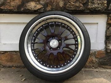 Selling: 18x8.5 | 5x112 | Brada Br10 3 piece wheels for sale