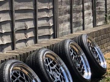 Selling: 18x8.5 | 5x112 | FelgenFactory FF01 wheels for sale