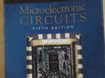 Myydään: Microelectronic Circuits, 5th edition, Sedra/Smith