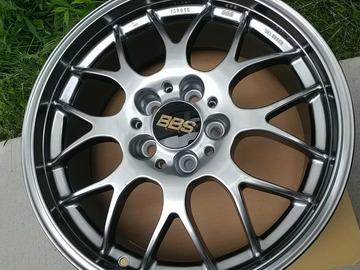 Selling: 17x7.5 | 5x108 | BBS RG-R Diamond Black wheels for sale