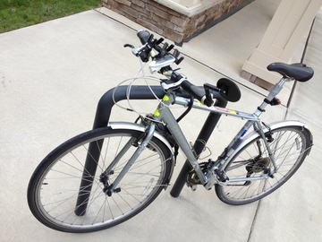 Free bike sharing: Commuter Bicycle in Greenville, SC