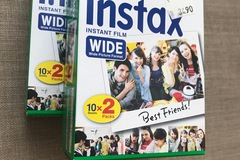 Ilmoitus: Fujifilm Instax Wide film twin pack, 20 pikakuvaa