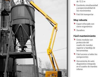 En alquiler: Brazo Articulado Diesel 4x4 - 20m