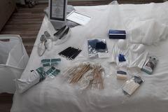 Ilmoitus: IKEAn kokoontaitettava pyykkikori 3kpl