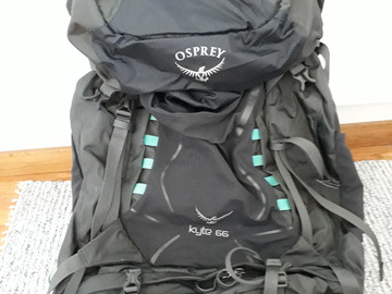 Renting out (per night): Osprey Kyte 66 women's S/M