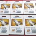 Bulk Lot: 10 pc SD Samsung 128GB EVO Class 10 Micro SDXC