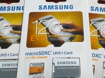Single Item: 1x Micro SD XC Universal* MemoryCard 128GB EVO $49.94 Retail