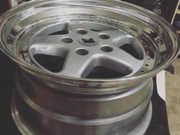Selling: 17x9.5 & 17x11 | 5x120 | BBS Kerscher RX wheels for sale