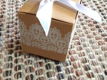 Ilmoitus: Vieraslahja laatikko