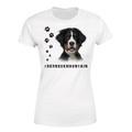 Selling: BERNESE MOUNTAIN 1 Womens T Shirt Hashtag Dog Breed Print