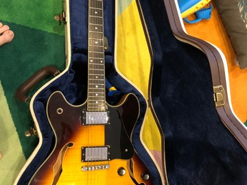 Renting out: Schecter Corsair Semi-Hollow