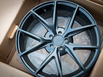 Selling: 18x8 | 5x100 | Satin Black Niche Misano wheels for sale