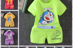 Bulk Lot: 100 pc Mixed Lot children Summer cartoon two-piece set