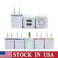 Bulk Lot: 200x units of High Quality 5V 2.1/1A Double US AC Travel USB