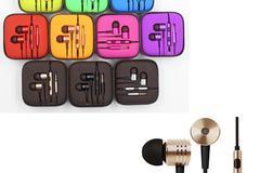 Bulk Lot: 50x Units of 3.5mm Earphone Universal Metal Headphones