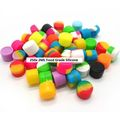 Bulk Lot: 250x 2ML Silicone Non-stick Jars Dab Container For Vaporizer