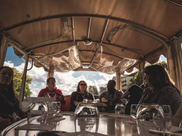 Rent per hour: Wine & Chocolate River Tour - Max. 10 people
