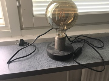 Myydään: Cool small table lamp