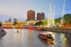 Rent per hour: Singapore Bumboat - Max. 45 people