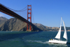 Per 3 hours: Golden Gate Bridge sailing tour - Max. 6 people