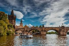 Rent per hour: Prague Eco Boats - Max. 11 people