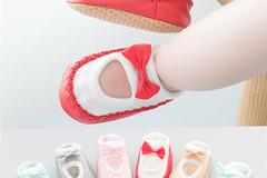 Bulk Lot: 200 pairs Mixed Lot Cartoon baby  anti-slip   bow socks