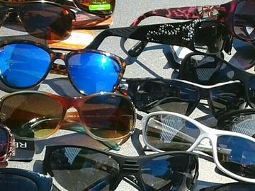 Bulk Lot: 150 pcs Sunglasses Foster Grant, Panama Jack, Aviators,Sport