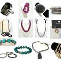 Bulk Lot: 18 pcs Designer Jewelry-- White House Black Market; Express