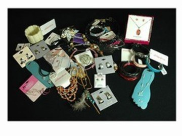 Buy Now: 100 pcs Wholesale Jewelry-- $ .49 pcs-- $3.00- $8.00 retails!